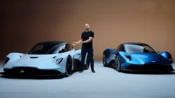 NEW Aston Martin Vanquish and AM-RB 003 - the art of lightning